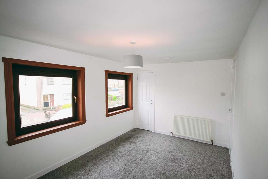 Home Building Work Peterhead Bedroom 2 Finished
