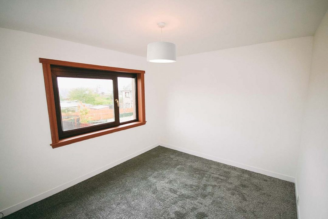 Home Building Work Peterhead Bedroom Finished