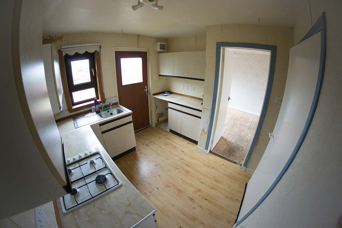 Home Renovation Peterhead Kitchen Before