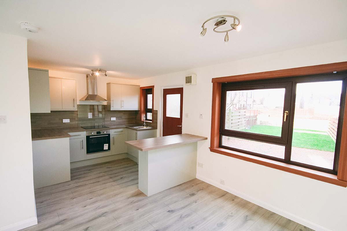 Home Renovation Peterhead Kitchen Diner
